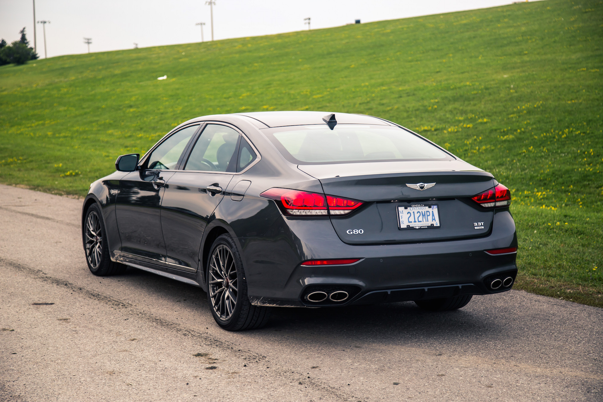 Review 2018 Genesis G80 Sport Canadian Auto Review