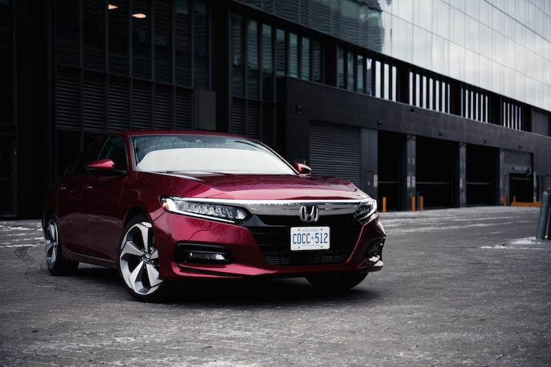 2018 Honda Accord 1.5T Touring front grill red