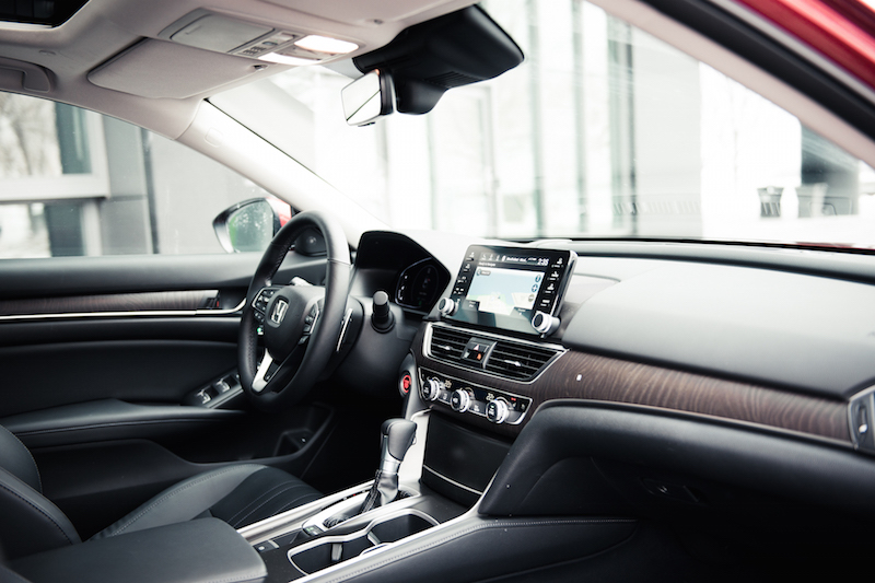 2018 Honda Accord 1.5T Touring wood panel open pore