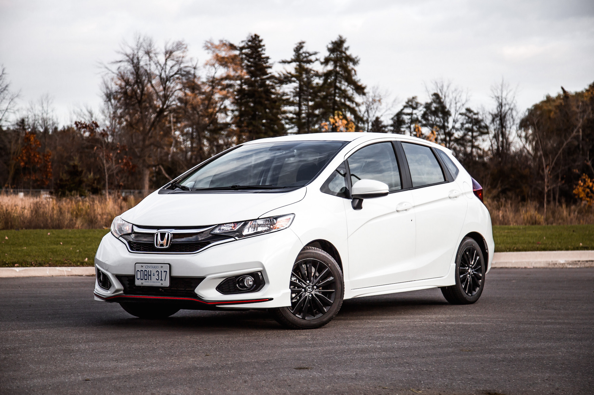 review 2018 honda fit sport canadian auto review