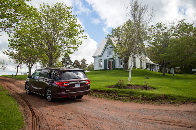 2018 Honda Odyssey anne of green gables museum