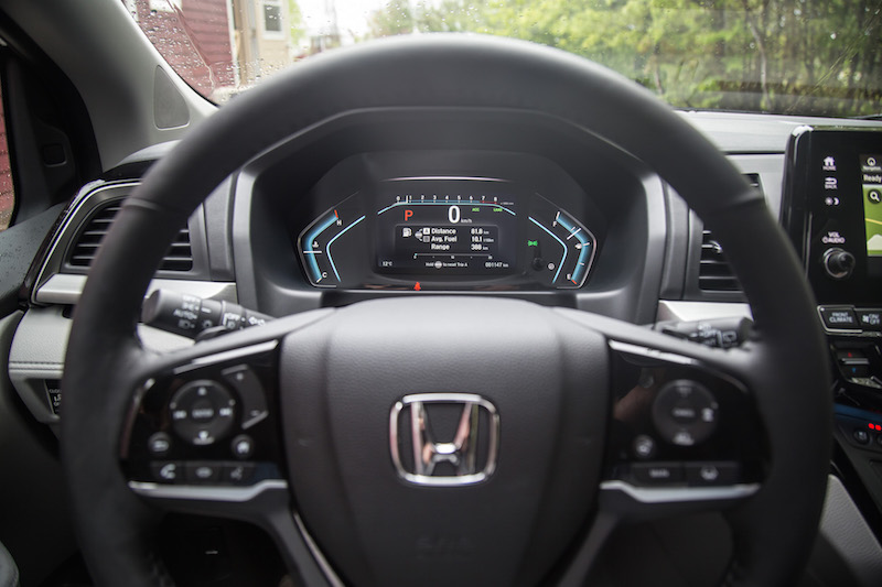 2018 Honda Odyssey new digital gauges