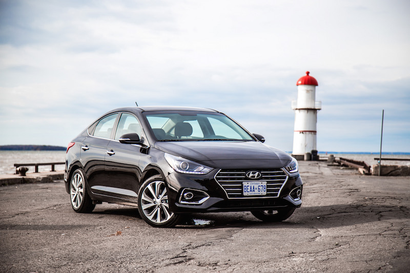 2018 Hyundai Accent four-door sedan