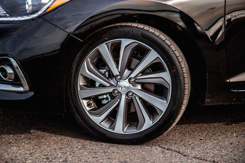 2018 Hyundai Accent gls wheels
