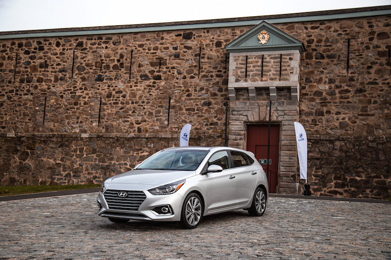 2018 Hyundai Accent 5-door hatchback