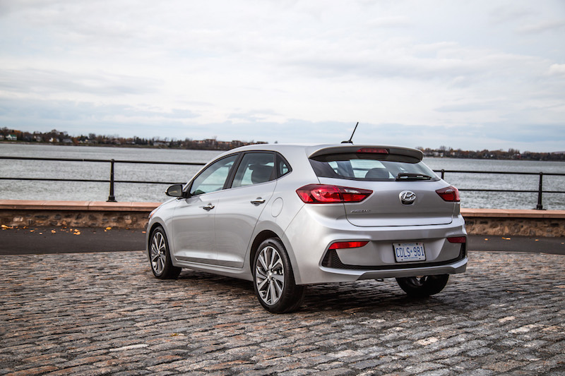 2018 Hyundai Accent hatch rear look