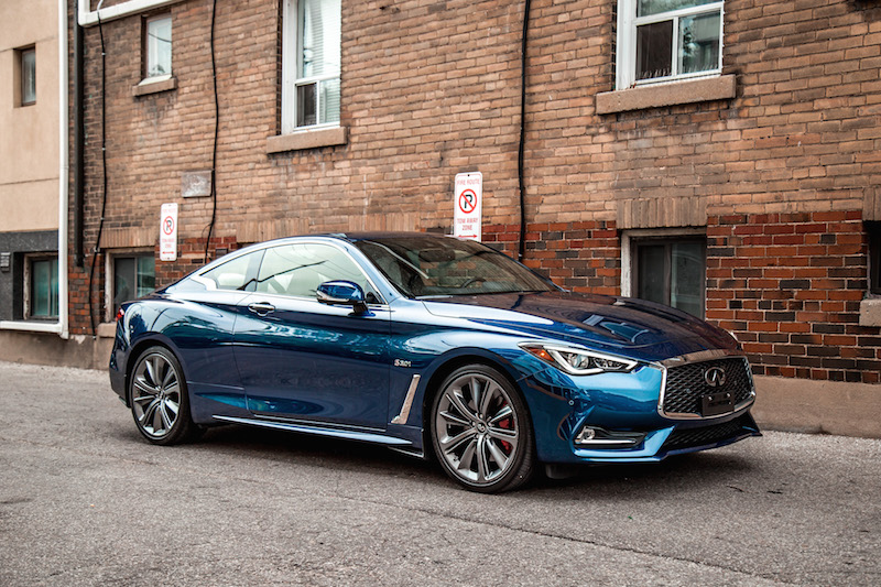 Turbo 350 Transmission >> Review: 2018 Infiniti Q60 Red Sport 400 AWD | CAR