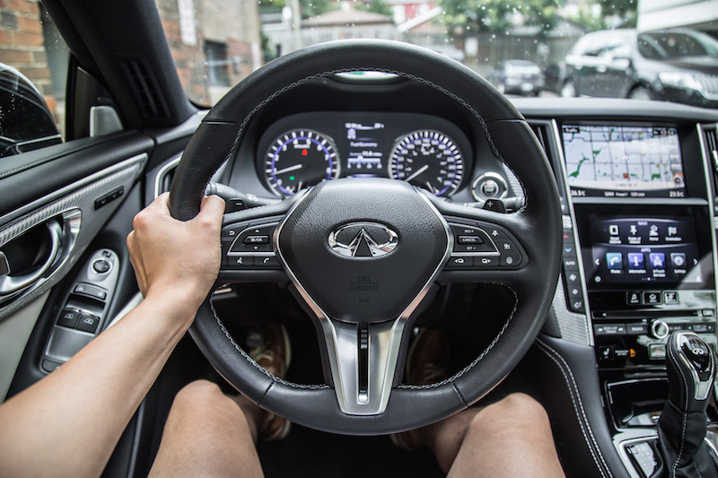 new infiniti steering wheel 2018