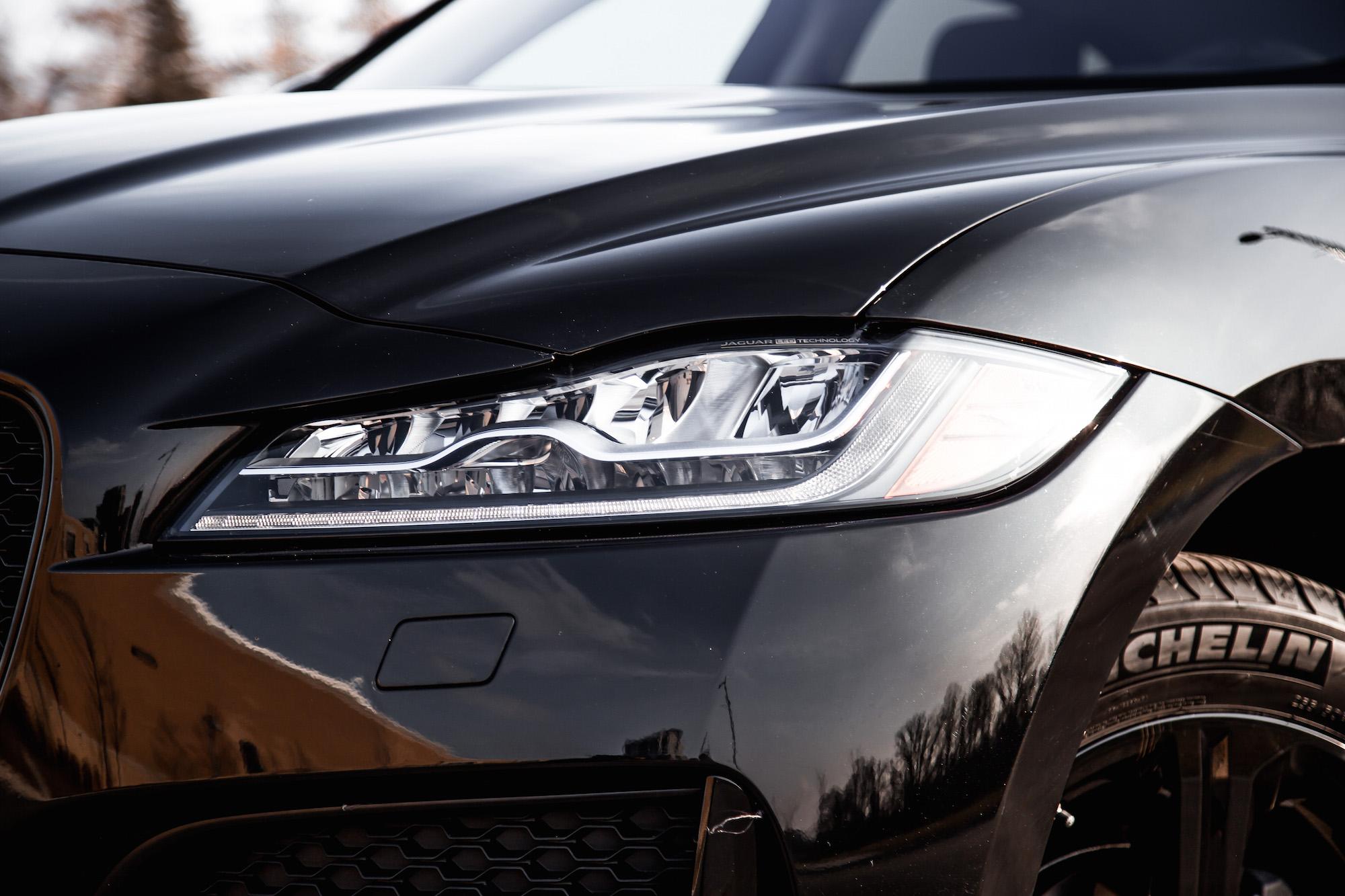 pace jaguar 20d headlights sport normal