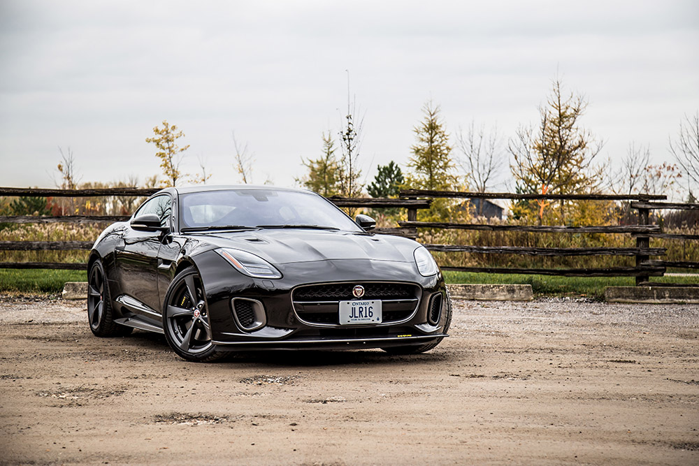 2018 Jaguar F-Type 400 Sport Coupe canada review