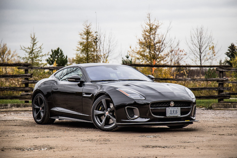 2018 Jaguar F-Type 400 Sport Coupe santorini black