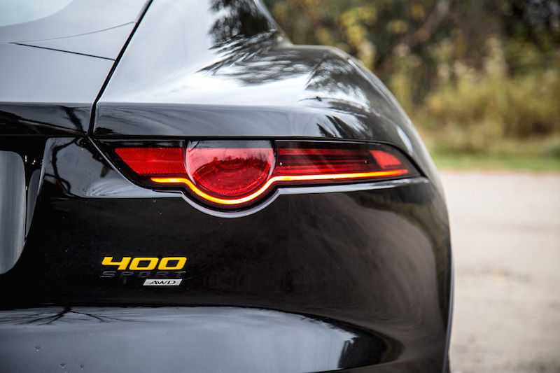 2018 Jaguar F-Type 400 Sport Coupe tail lights