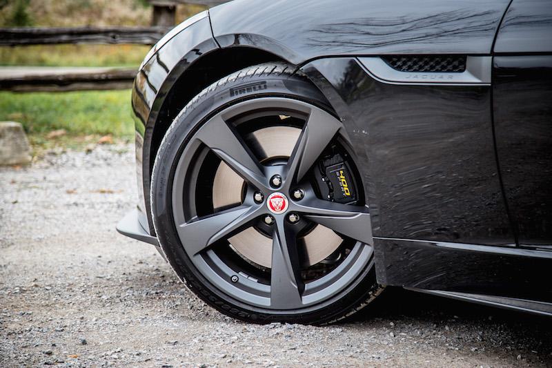 2018 Jaguar F-Type 400 Sport Coupe 20-inch wheels