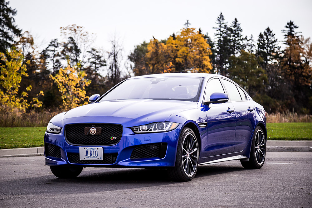 jaguar xe s new for 2018 review canada