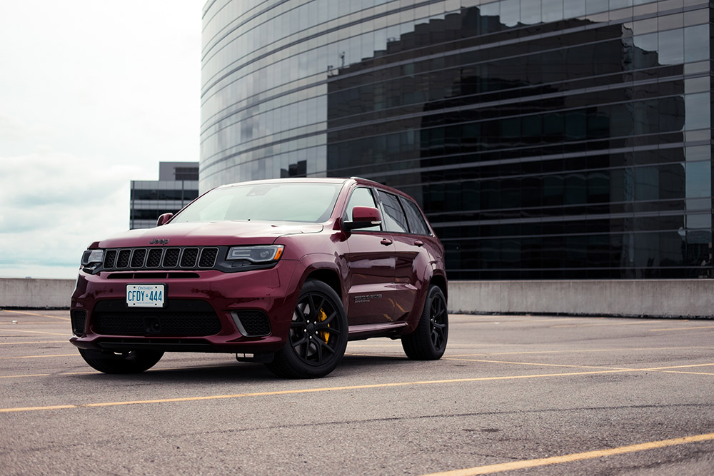Jeep Cherokee Trackhawk 2018 canada review