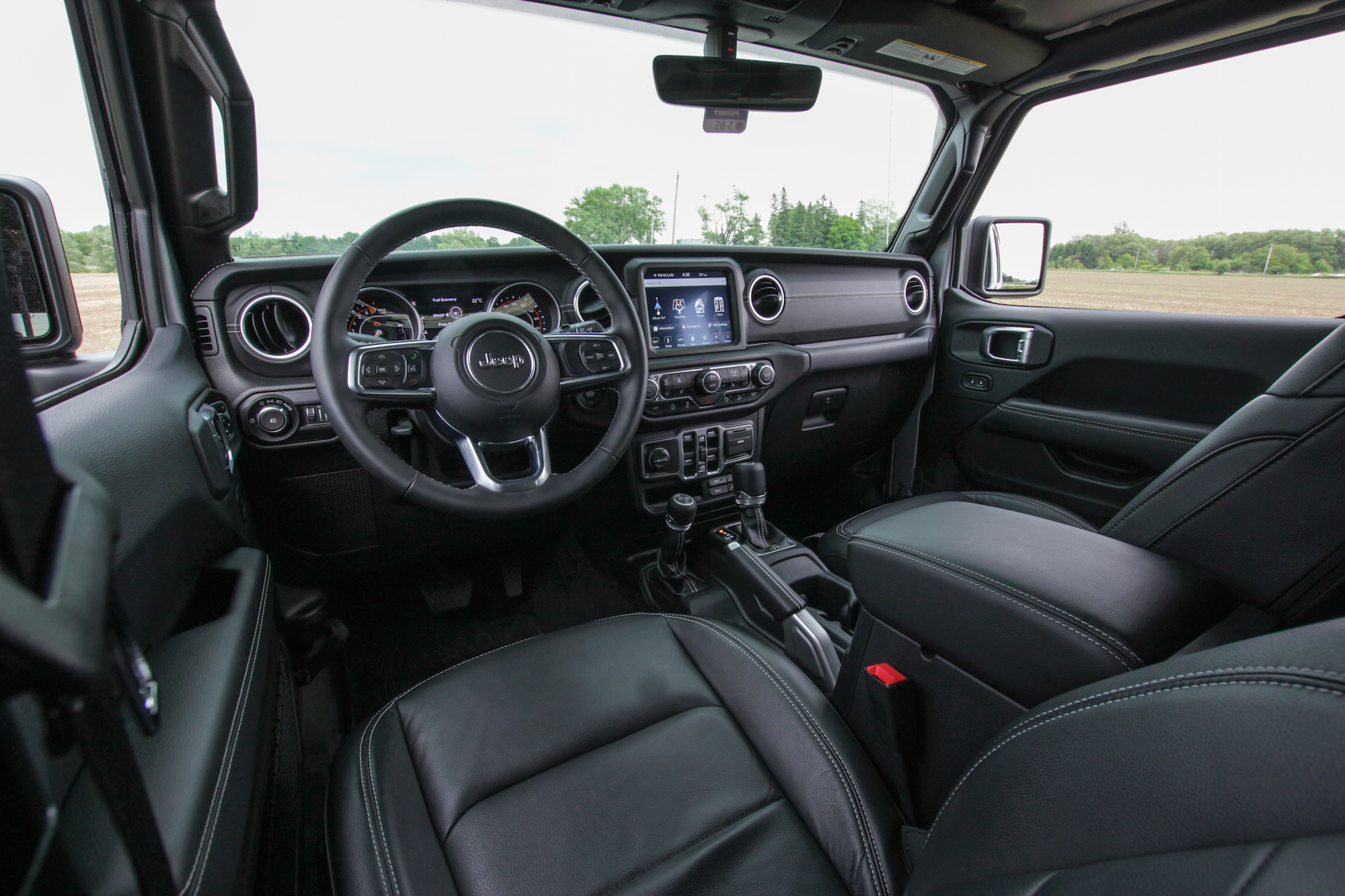 Review 2018 Jeep Wrangler Sahara Unlimited Car Interior