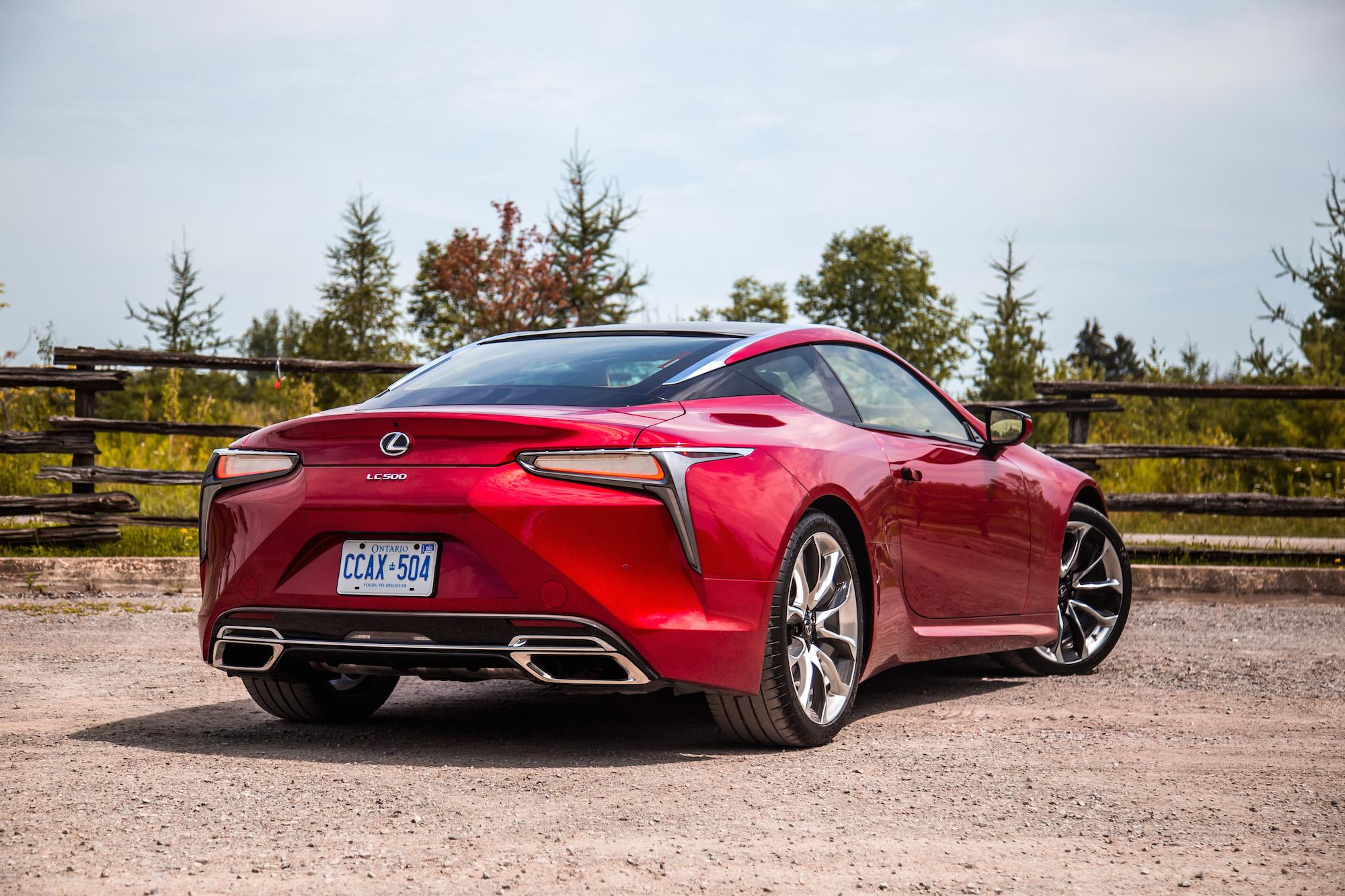 Michelin Pilot Super Sport Review >> Review: 2018 Lexus LC 500 | Canadian Auto Review