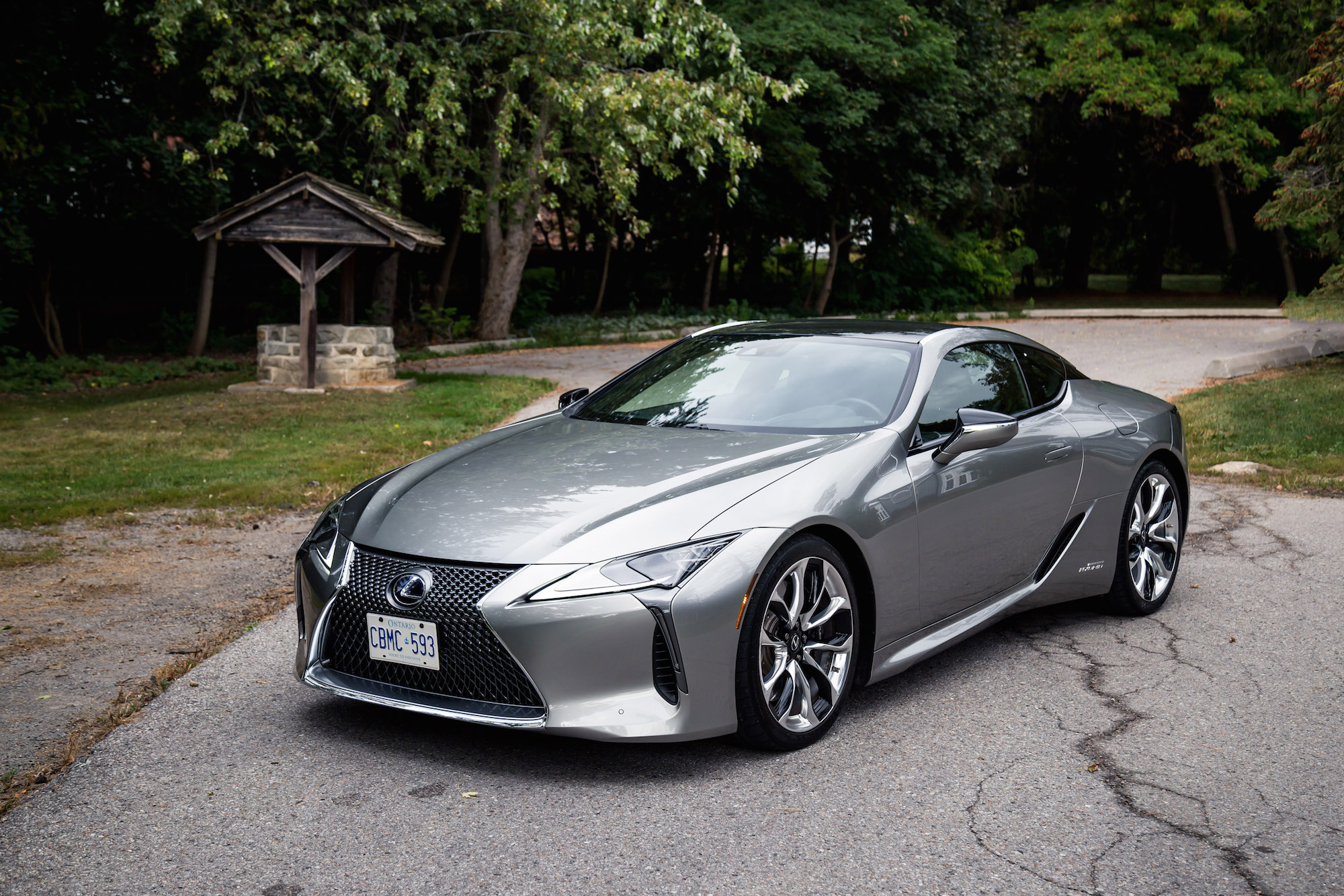 Review 2018 Lexus Lc 500h Canadian Auto Review