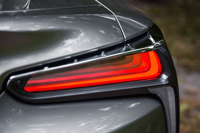 2018 Lexus LC 500h led rear tail lights