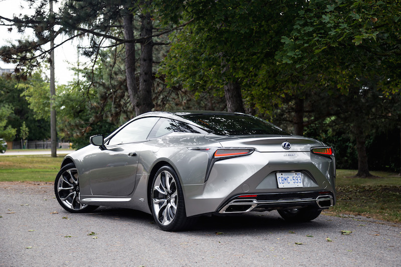 2018 Lexus LC 500h rear quarter