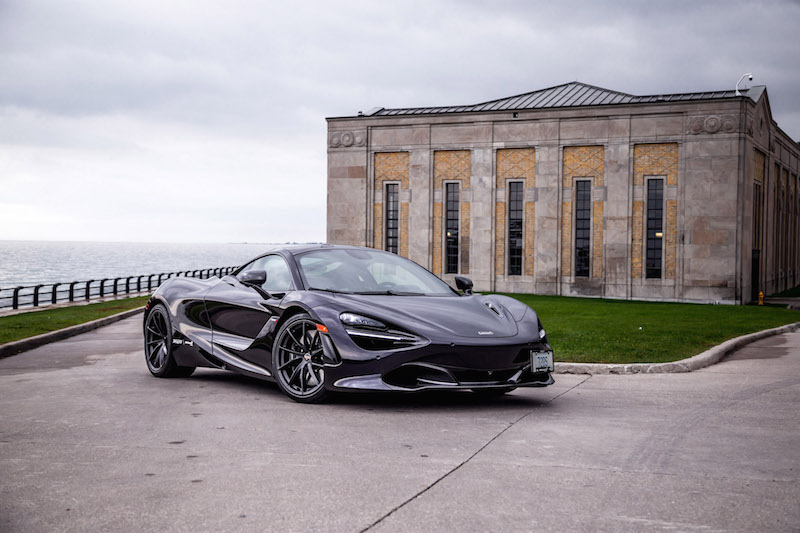 2018 McLaren 720S purple colour
