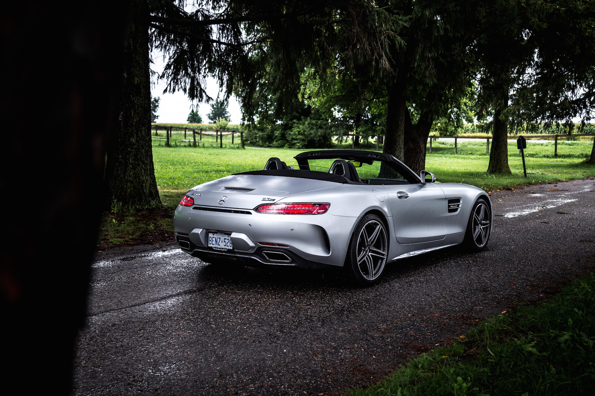 Review 2018 Mercedes Amg Gt C Roadster Car