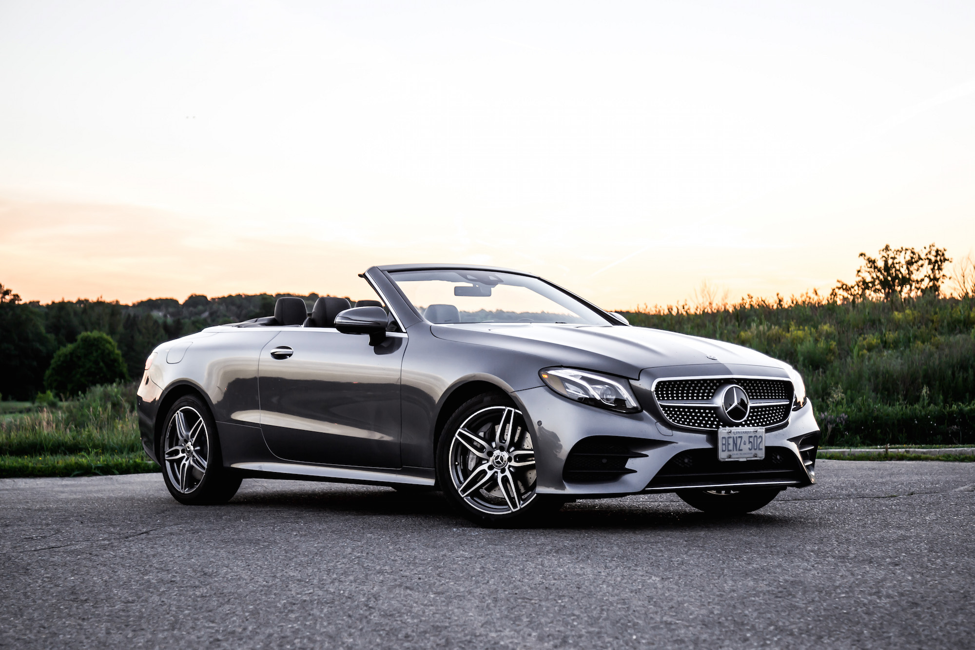 Review 2018 Mercedes Benz E 400 4matic Cabriolet Car