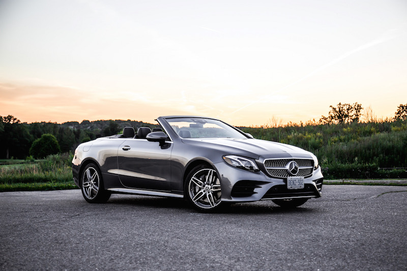 2018 Mercedes-Benz E400 Cabriolet sunset