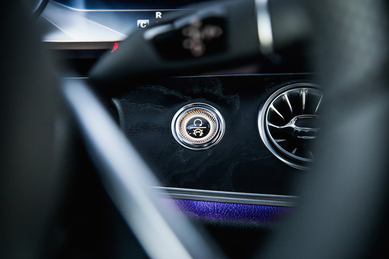 2018 Mercedes-Benz E400 Cabriolet engine start ignition button