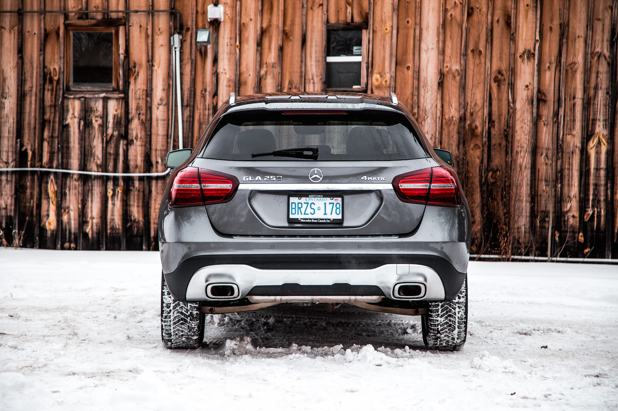 Review 2018 mercedes benz gla 250 4matic canadian auto for Mercedes benz gla 250 review