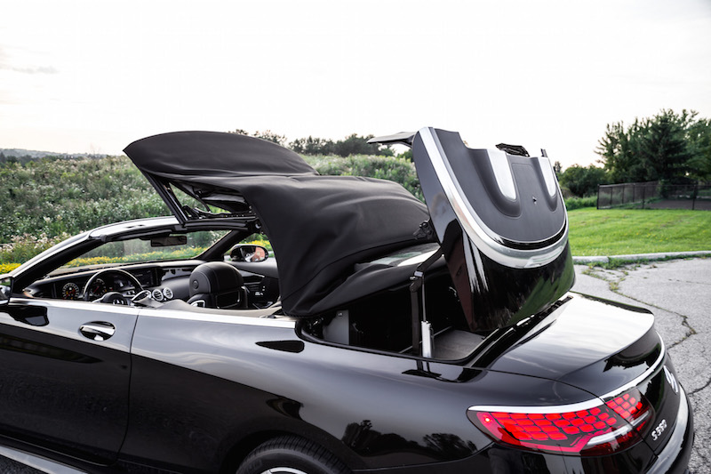 2018 Mercedes-Benz S-Class Cabriolet roof moving operation