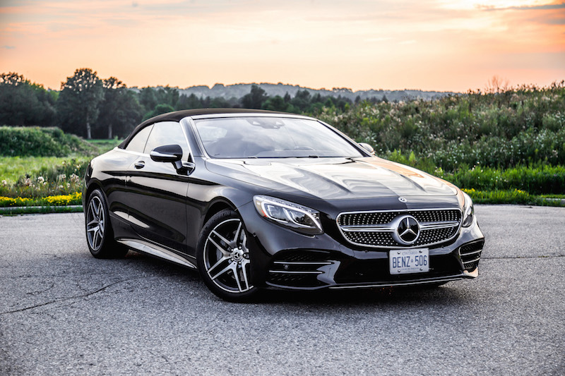 2018 Mercedes-Benz S-Class Cabriolet black roof up