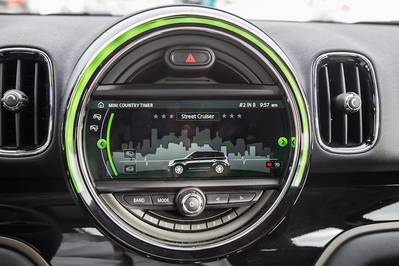 2018 MINI Countryman ALL4 center screen