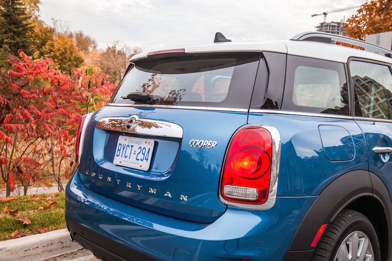 2018 MINI Countryman ALL4 trunklid