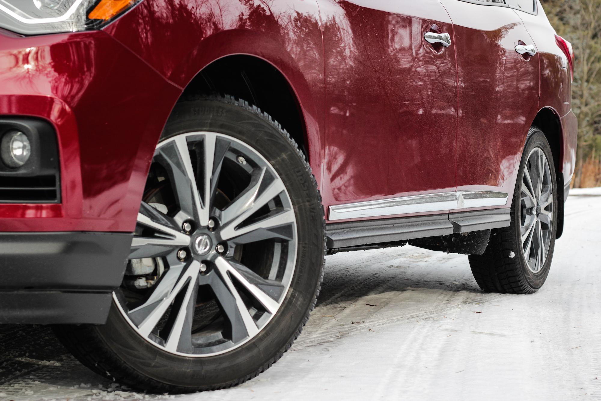 Honda Pilot 2018 >> Review: 2018 Nissan Pathfinder Platinum   Canadian Auto Review