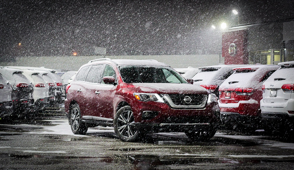 nissan pathfinder new for 2018 canada