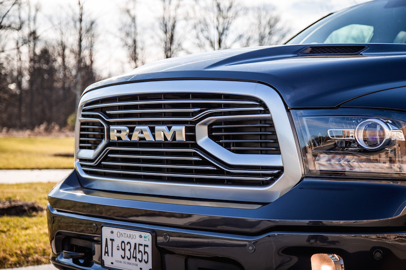 2018 RAM 1500 Limited Tungsten Edition chrome grill
