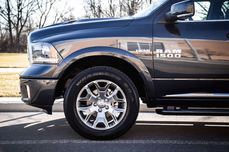 2018 RAM 1500 Limited Tungsten Edition wheels