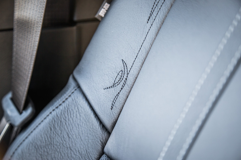 2018 RAM 1500 Limited Tungsten Edition seat stitching