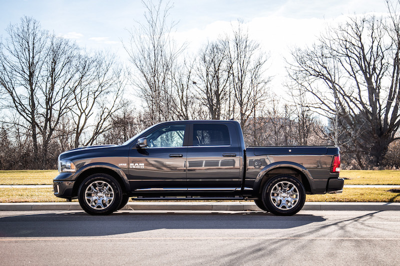 2018 RAM 1500 Limited Tungsten Edition maximum steel metallic