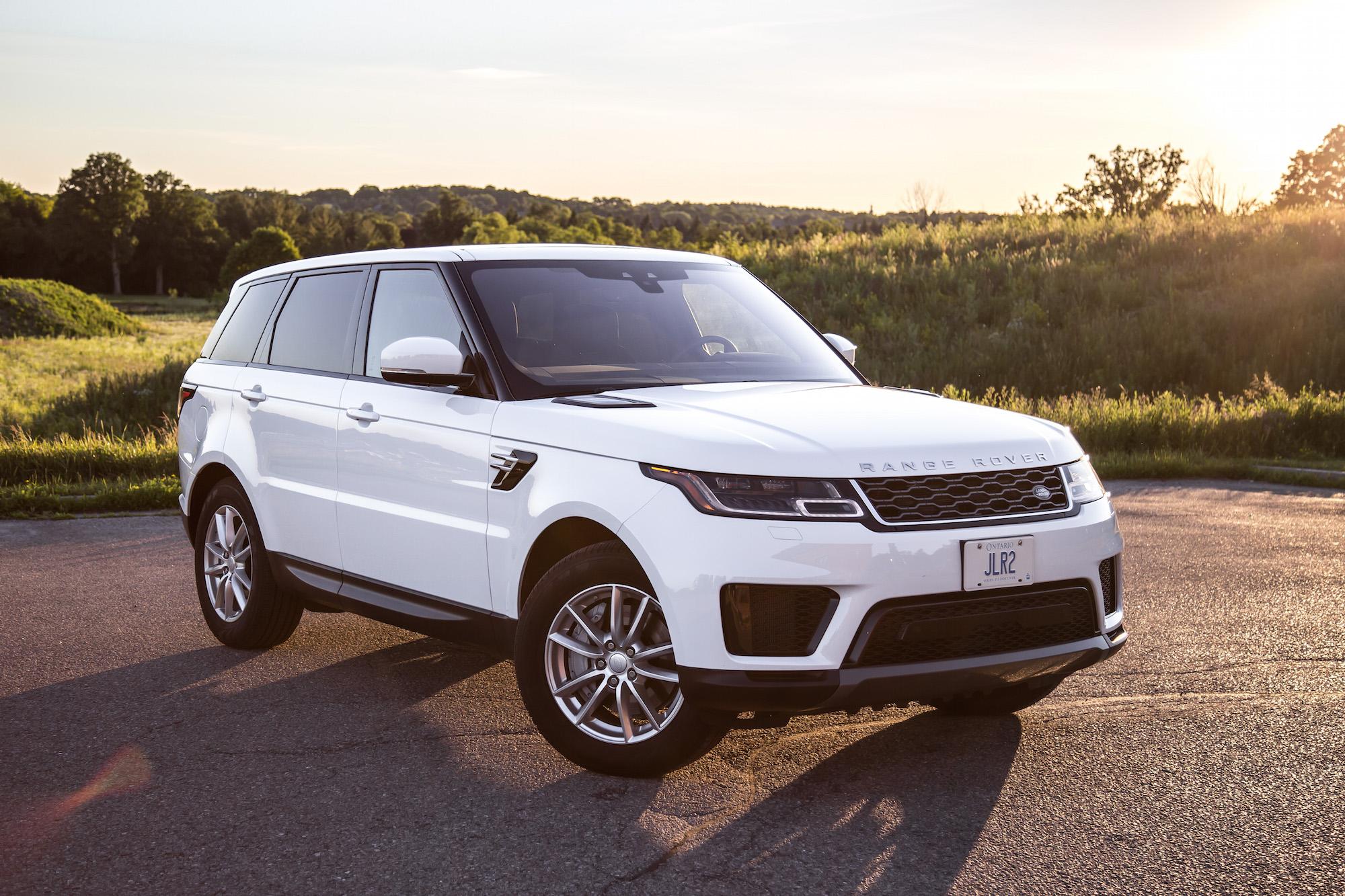 review 2018 range rover sport se car. Black Bedroom Furniture Sets. Home Design Ideas