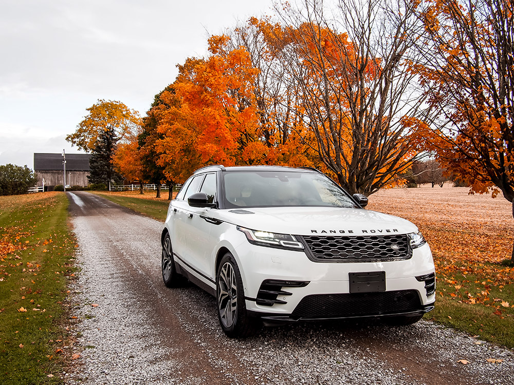 2018 Range Rover Velar R-Dynamic canada review