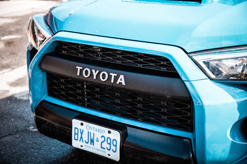 2018 Toyota 4Runner TRD Pro front grill specific