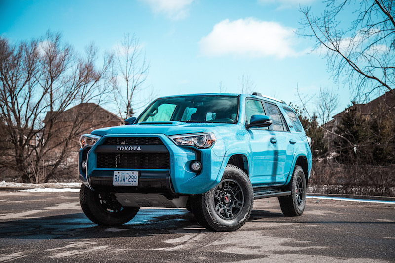 review 2018 toyota 4runner trd pro canadian auto review. Black Bedroom Furniture Sets. Home Design Ideas