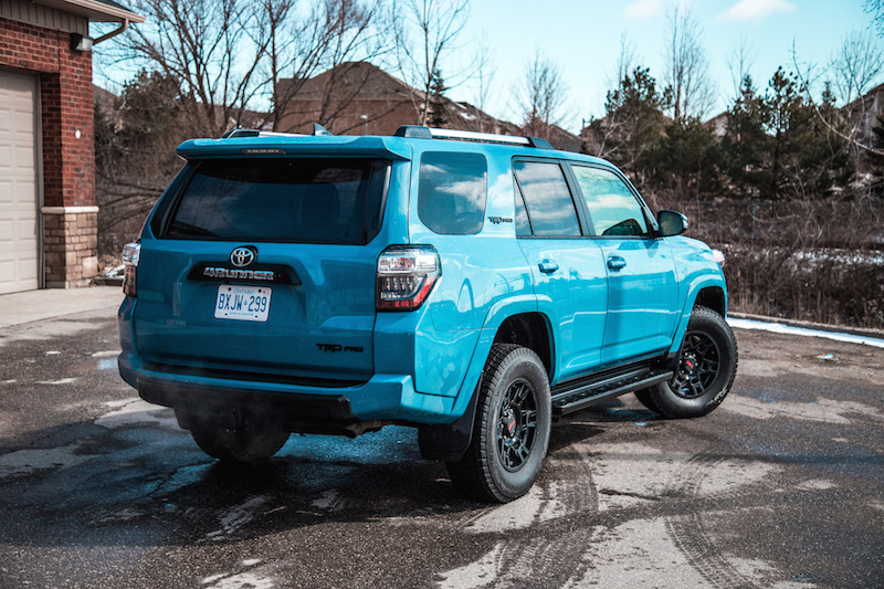 review  toyota runner trd pro canadian auto review