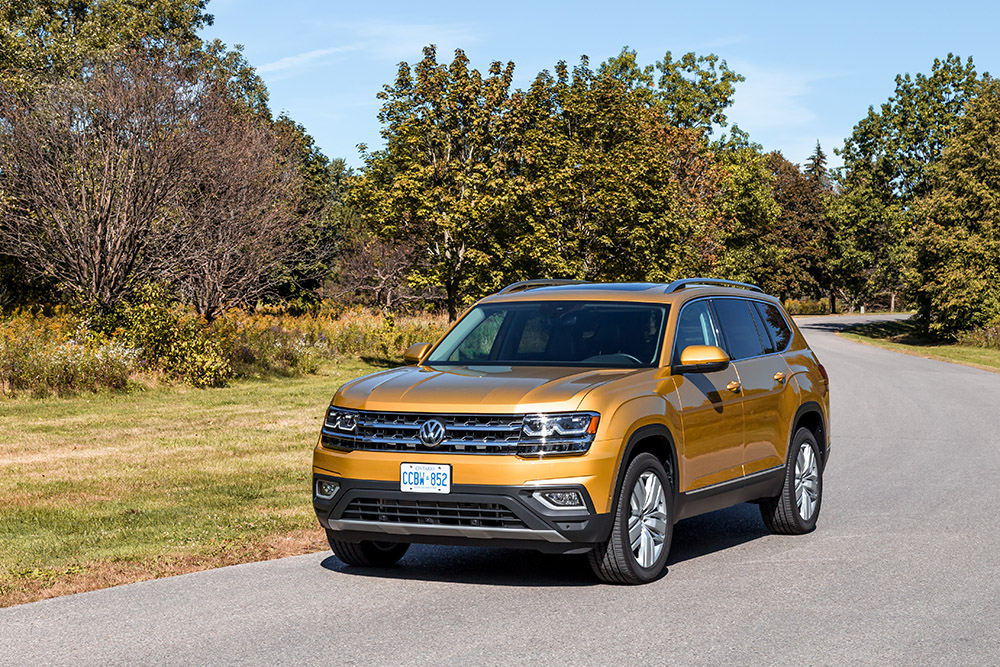 vw atlas execline new for 2018 canada