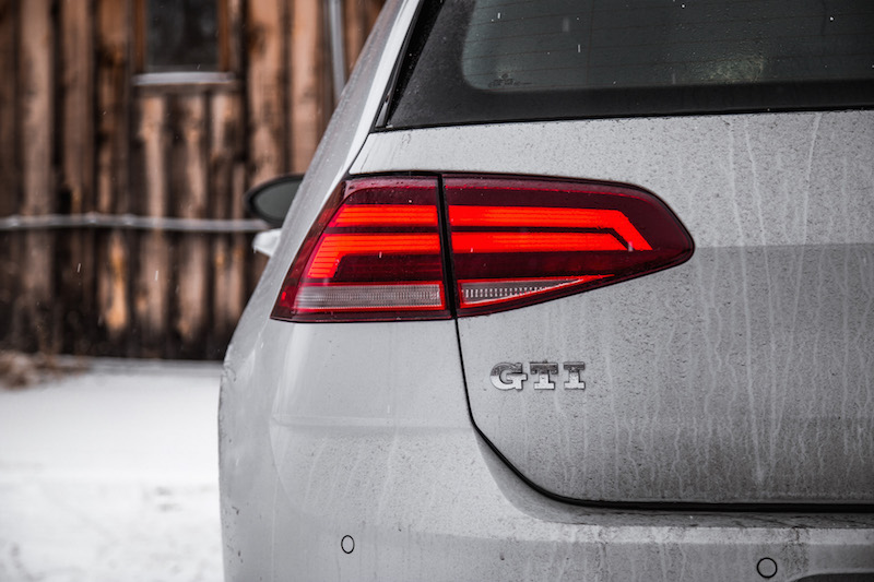 2018 Volkswagen Golf GTI led tail rear lights