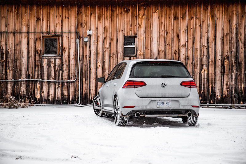 2018 Volkswagen Golf GTI rear