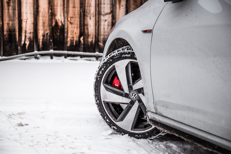 2018 Volkswagen Golf GTI wheels