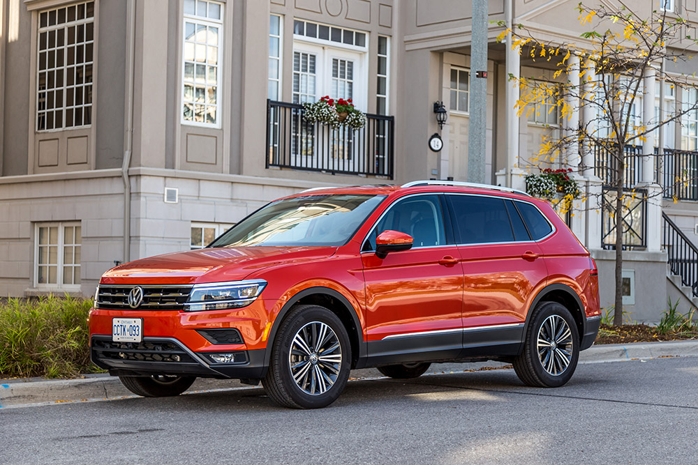 vw tiguan highline new for 2018 review canada